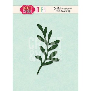 Craft and You CW092 - Mistletoe Twig