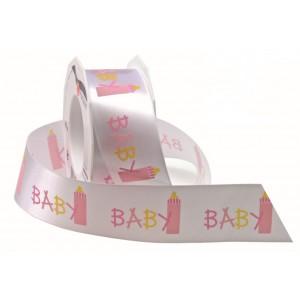 Текстилна панделка - Baby - 40 - 20