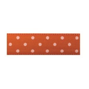 Текстилна панделка - Mini dots - 15 - 620