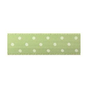 Текстилна панделка - Mini dots - 15 - 027