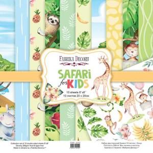Fabrika Decoru FDSP-02112 8'x8' - Safari for Kids