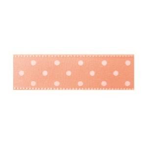 Текстилна панделка - Mini dots - 15 - 034