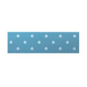 Текстилна панделка - Mini dots - 15 - 612