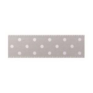 Текстилна панделка - Mini dots - 15 - 631