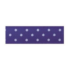 Текстилна панделка - Mini dots - 15 - 614