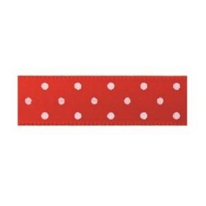 Текстилна панделка - Mini dots - 15 - 609