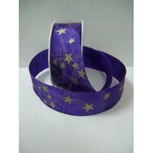 Текстилна панделка - Stars - 40 - 610