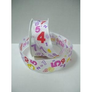 Текстилна панделка - NUMBERS - 40 - 604