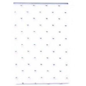 Текстилна панделка - Crystal - 40 - 601