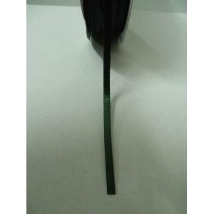 Тъмно зелена панделка сатен на метър - 3мм