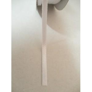 Бяла панделка сатен на метър - 3мм