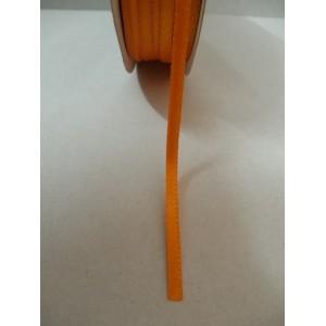 Оранжева панделка сатен на метър - 3мм