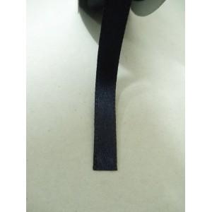 Тъмно синя панделка сатен на метър - 7мм