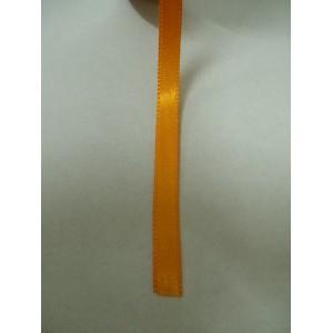 Оранжева панделка сатен на метър - 7мм