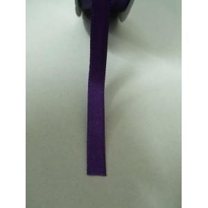 Тъмно лилава панделка сатен на метър - 7мм