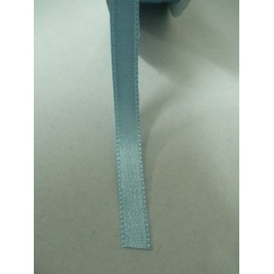 Светло синя панделка сатен на метър - 7мм