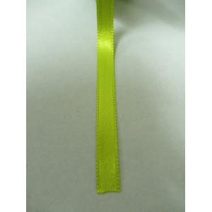 Зелена ябълка панделка сатен на метър - 7мм