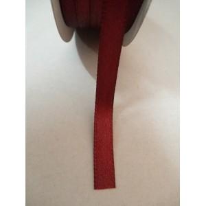 Бордо панделка сатен на метър - 7мм