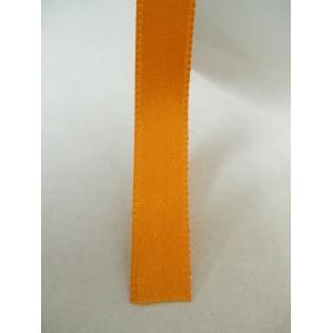 Оранжева панделка сатен на метър - 10мм