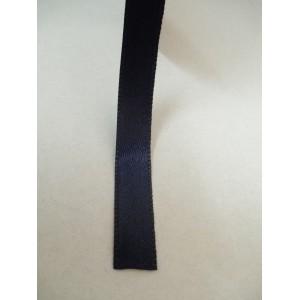 Тъмно синя панделка сатен на метър - 10мм