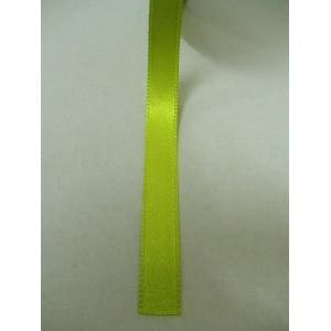 Зелена ябълка панделка сатен на метър - 10мм