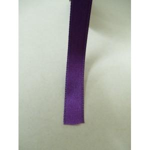 Тъмно лилава панделка сатен на метър - 10мм