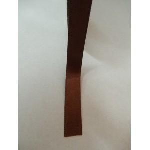 Кафява панделка сатен на метър - 10мм