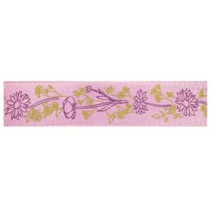 Текстилна панделка - Fiori - 40 - 024