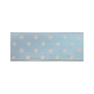 Текстилна панделка - Polka Dots - 25 - 602