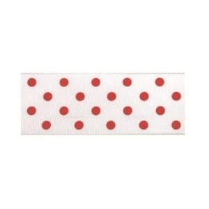 Текстилна панделка - Polka Dots - 25 - 709