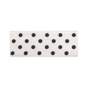 Текстилна панделка - Polka Dots - 25 - 713