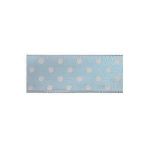 Текстилна панделка - Polka Dots - 40 - 602
