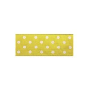 Текстилна панделка - Polka Dots - 40 - 605
