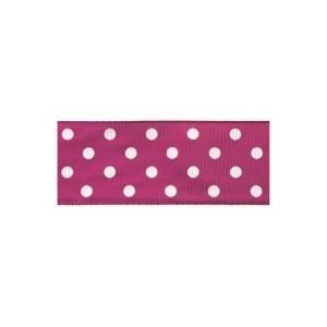 Текстилна панделка - Polka Dots - 40 - 606