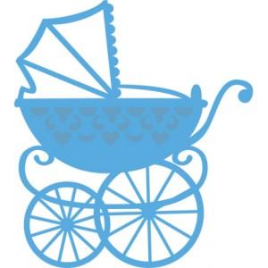 Marianne Design LR0218 - Бебешка количка