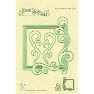 Leane Creatief 458114 - Квадратна рамка със завъртулки