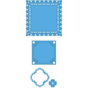 Marianne Design LR0234 - Квадратни рамки с орнаменти