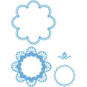 Marianne Design LR0180 - Кръгли рамки с орнаменти