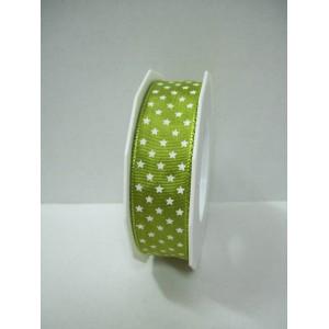 Текстилна панделка - Mini Stars - 25 - 535