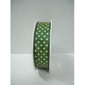 Текстилна панделка - Mini Stars - 25 - 355
