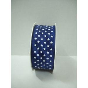 Текстилна панделка - Mini Stars - 40 - 244
