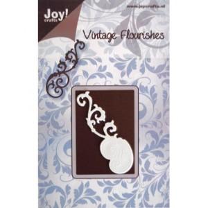 Joy crafts 6003/0014 - Винтидж сърце с орнаменти
