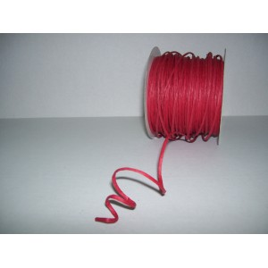 Raffia - With wire - RED