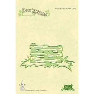 Leane Creatief 457698 - Дървена ограда с тревичка