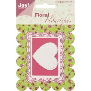 Joy crafts 6003/0005 - Дантелено сърце