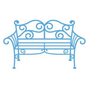 Marianne Design LR0258 - Метална пейка