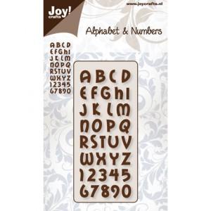 Joy crafts 6002/0139 - Цифри и Английски букви №1