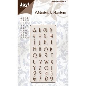 Joy crafts 6002/0140 - Цифри и Английски букви №2