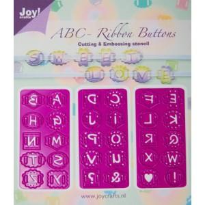 Joy crafts 6002/0205 - Копчета за нанизване от английски букви