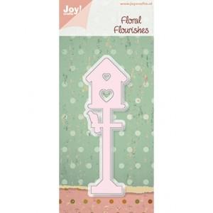 Joy crafts 6002/0195 - Птиче с къщичка